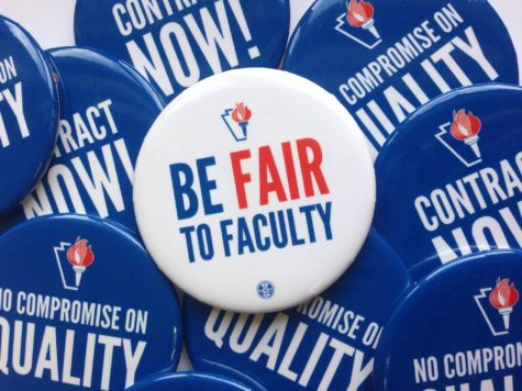 Cal U union faculty members hold student Q&A session about possible strike