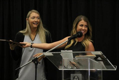 Students recognized at annual Student Affairs luncheon