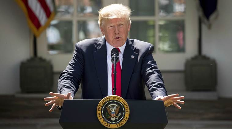 Photo+of+Donald+Trump+speaking+about+his+Paris+Agreement+decision+courtesy+of+the+Associated+Press.