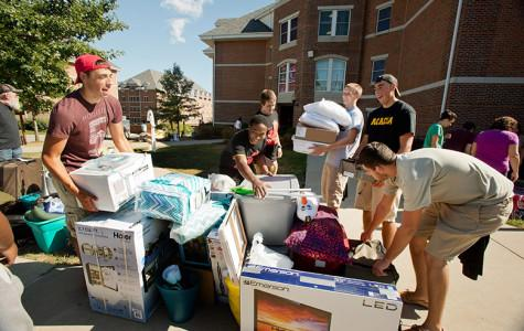 Students move into Cal U