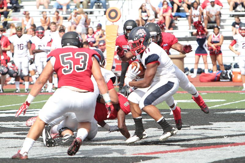 Vulcan Football Holds off Red Raiders for Rebound Win