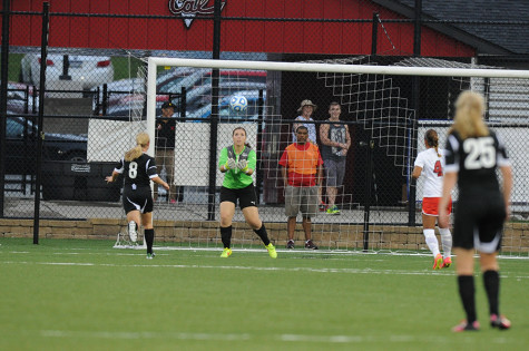 After posting a 10-3-6 record with six shutouts last season, junior goalkeeper Meghan Jayes looks to improve her record and number of shutouts in 2015