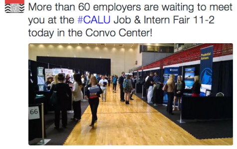 Cal U Job and Internship Fair considered a success