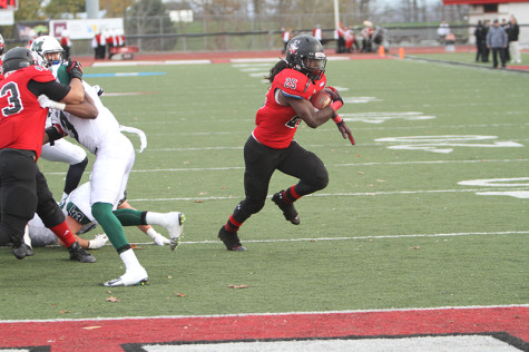 Sophomore John Franklin III scored a TD in every game this season for the Vulcans
