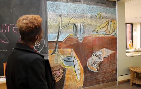 """""""Monday Murals"""" adorn student center wall"""