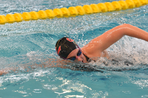 Janet Gates and the Cal U swim team will compete at the University of Pittsburgh