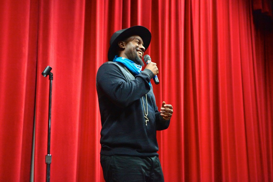 ODD? ROD performs at California University of Pennsylvania on Jan. 26, 2016.
