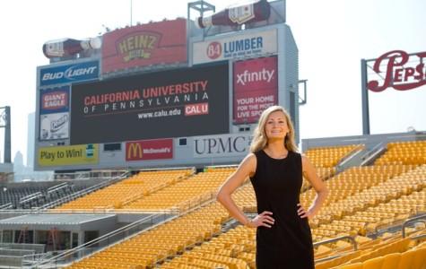 Cal U Student Sabrina Flynn Graduates with internship, externship, and a co-op