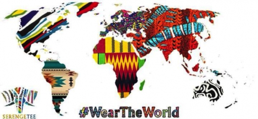 """Wear the World"" with Serengetee clothing"