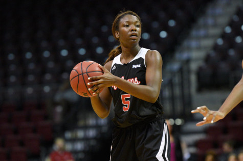 Seairra Barrett put up 19 points against the University of Pittsburgh-Johnstown