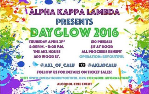 Alpha Kappa Lambda hosts DayGlow for charity