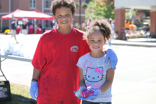 Cal U Family Day 2016 welcomes families for a full day of activities, including the football team's home opening game against Millersville.