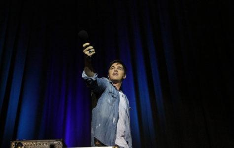 Jesse McCartney performs at Cal U.