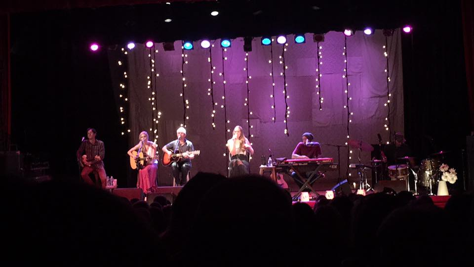 Colbie Caillat and company perform at the Carnegie Music Hall in Homestead.