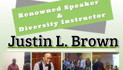 Diversity Speaker Justin Brown enlightens Cal U students