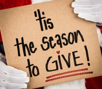 'Tis the Season to Give