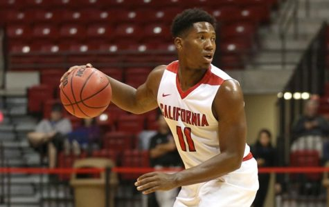 Ramon Creighton hopeful during freshman season
