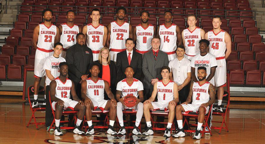 California University of Pennsylvania's men's basketball team.