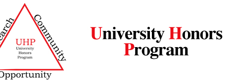 The University Honors Program Senior Honors Thesis Project Presentation schedule, April 24 – 25, 2017