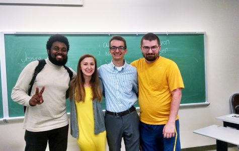 Communication department hosts student speech contest