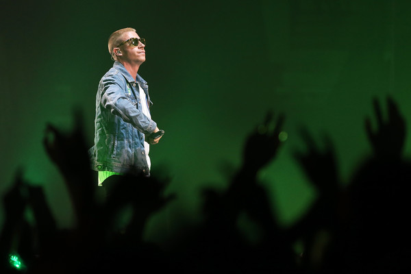 Photo of Macklemore courtesy of Fiona Goodall/Getty Images.