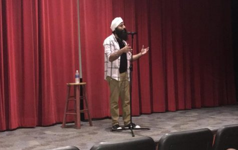 Nav the Poet Comes to Cal U