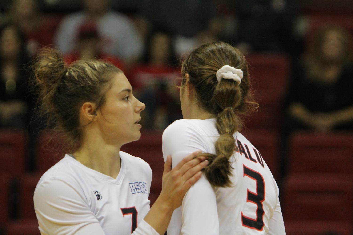 Ashley Leto (left) is one of the seniors that head coach Peter Letourneau has spoken highly about.