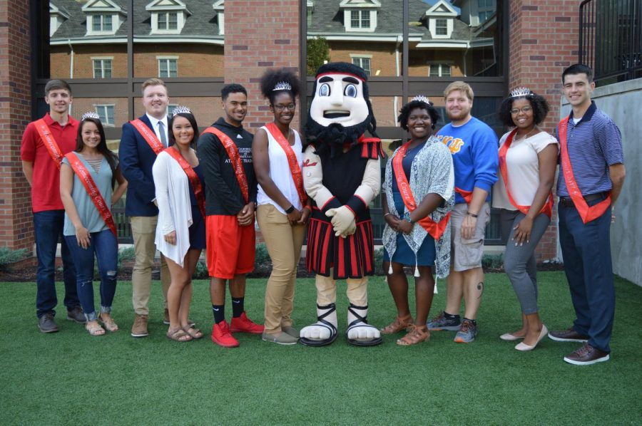 The+2017+Homecoming+Court+with+Blaze.