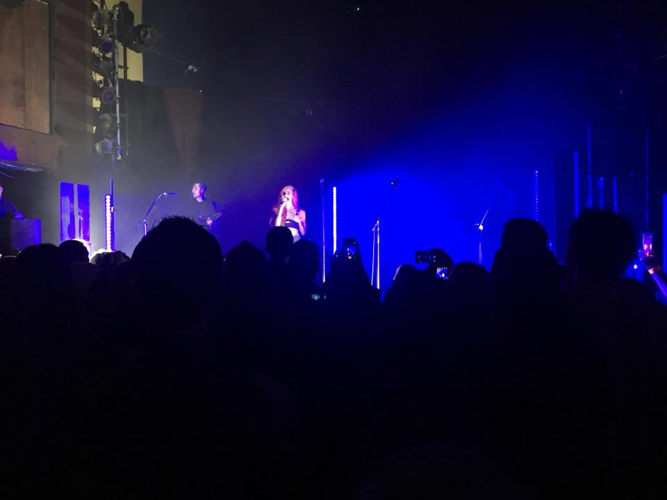 My view of Lights at Mr. Small's Theatre on March 7, 2018. Lights is on her We Were Here Tour 2018.
