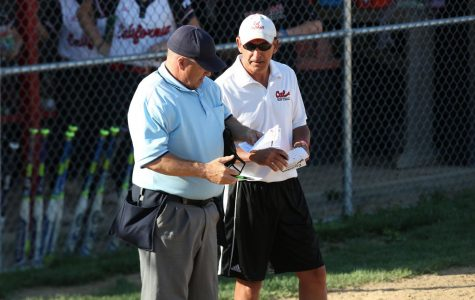Photo of California University of Pennsylvania softball head coach Rick Bertagnolli courtesy of Jeff Helsel, SAI.