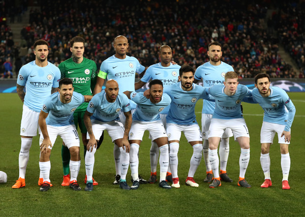 Manchester City Team Photo  (Source: Catherine Ivill/Getty Images Europe)