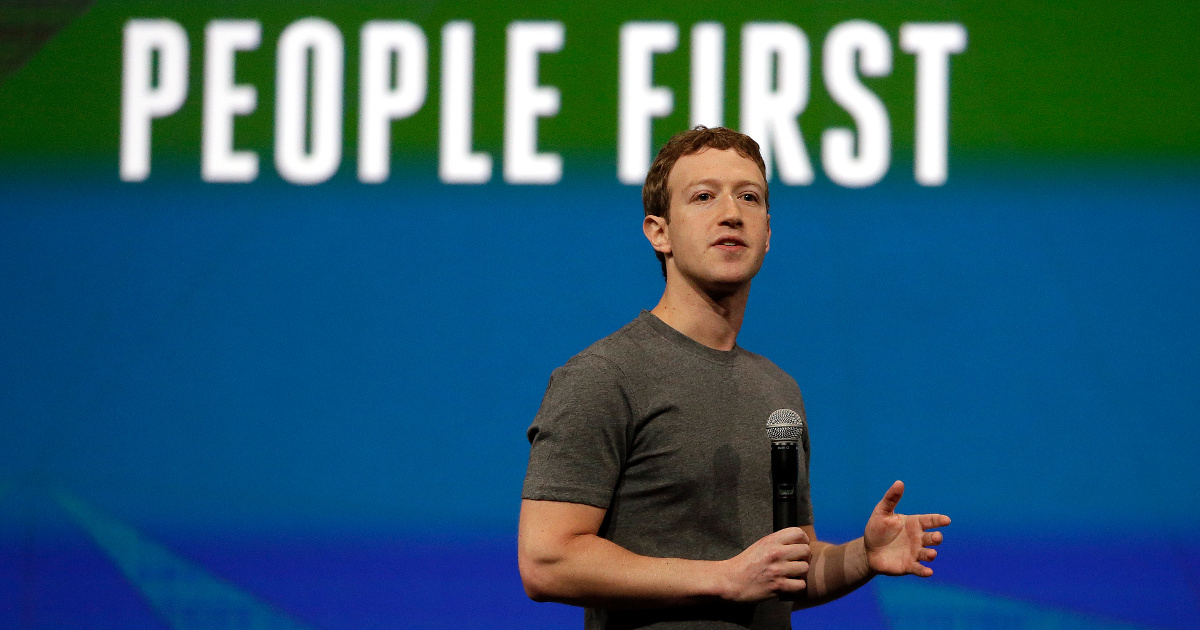Photo of Mark Zuckerberg by the Associated Press.