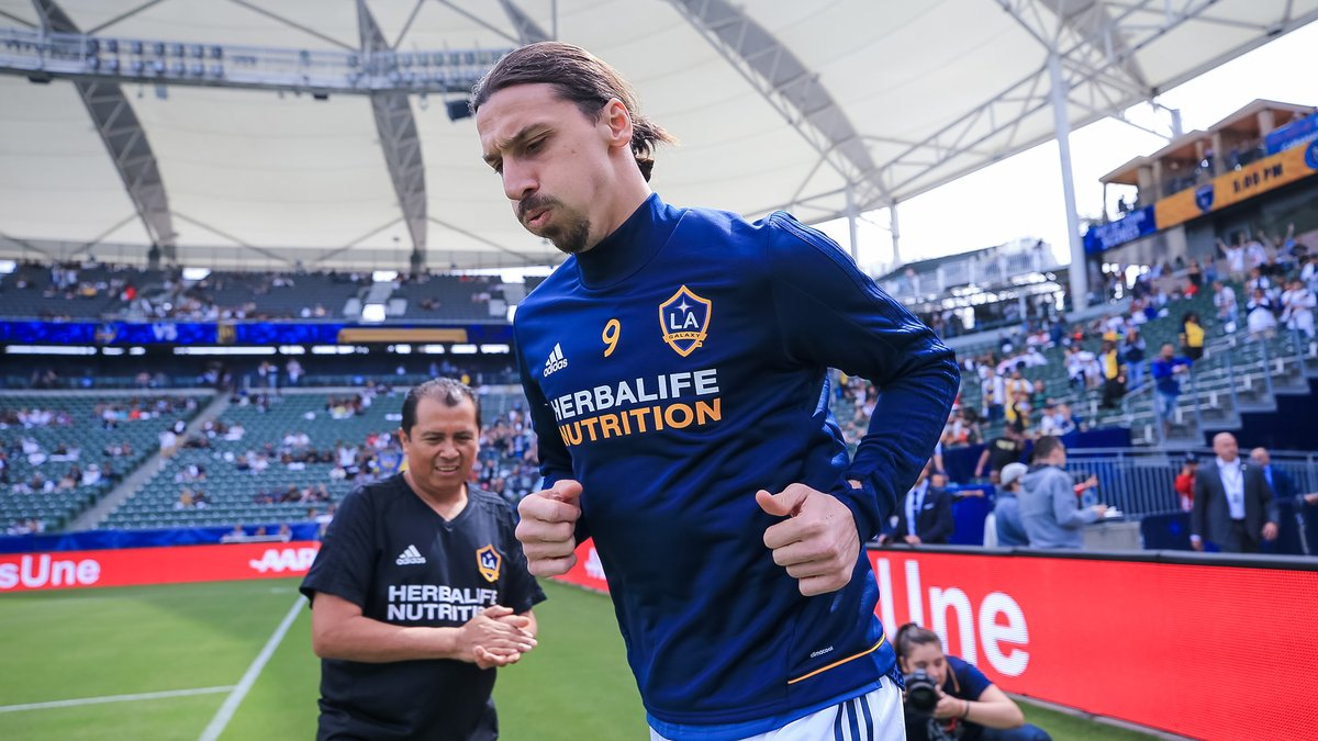 Photo of Zlatan Ibrahimović courtesy of the LA Galaxy.