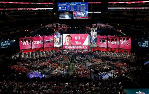 Photo from the 2018 NFL Draft courtesy of Tim Warner/Getty Images.
