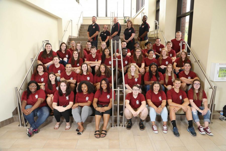 Cal U housing directors and Community Assistants - Fall 2018