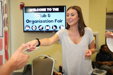 Hundreds attend Cal U's club and organization fair