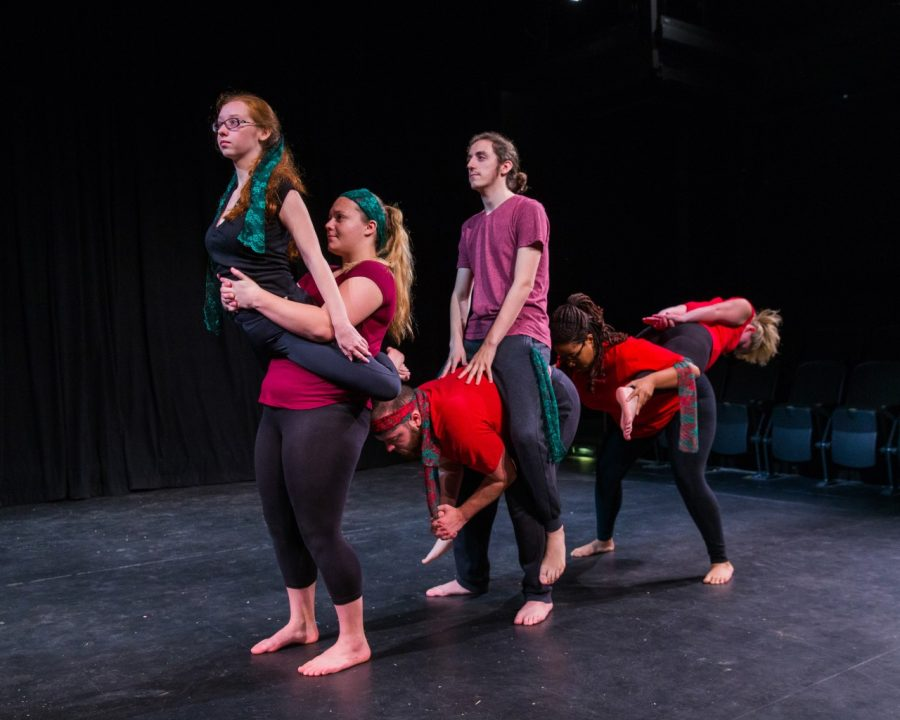 The First Year Students take stage with 'Red Horse'