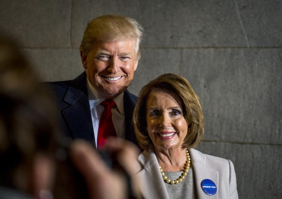 Speaker of the House Nancy Pelosi and President Donald Trump