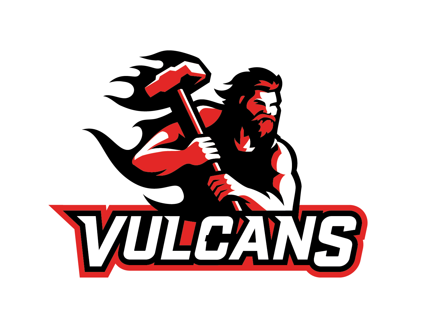 California University of Pennsylvania Vulcans Logo