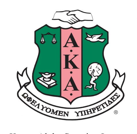 Cal U's Alpha Kappa Alpha sorority's Formal Rush, Feb. 8, 2020