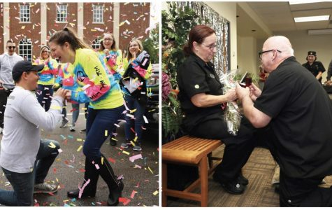It's all about love! Cal U couples tell surprise engagement stories and share V-Day plans