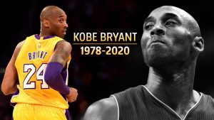 Basketball legend Kobe Bryant was 41 when he died on January 26, 2020.