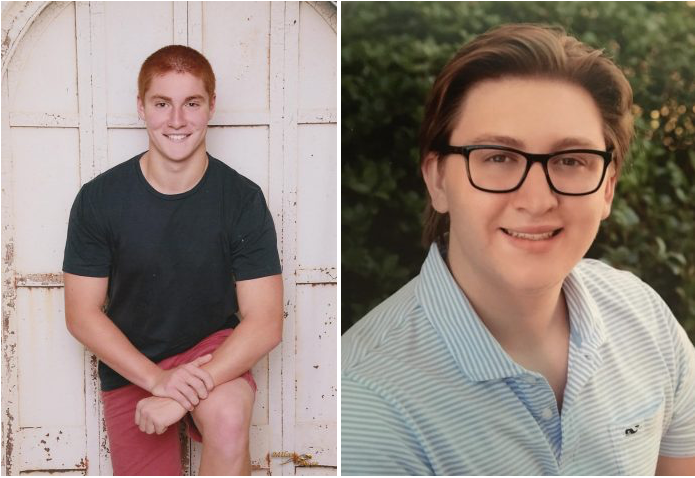 Timothy Piazza (left) and Maxwell Gruver (right) both passed in 2017 due to hazing.