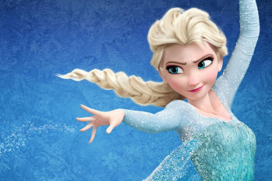 Elsa+from+Disney%27s+movie+%22Frozen%22+sings+the+hit+song+%22Let+it+go.%22
