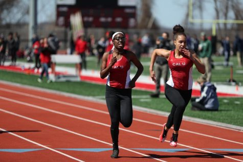 California University of Pennsylvania Early Bird Invitational Track and Field Meet, Adamson Stadium, March 23, 2019.