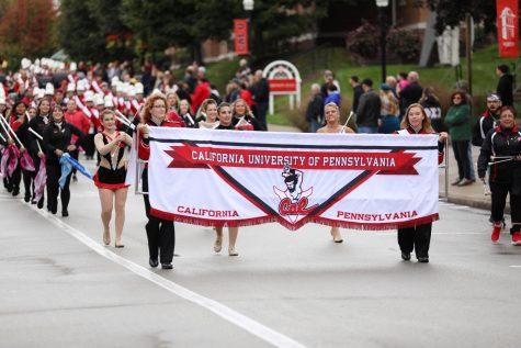 California University of Pennsylvania marching band, Homecoming, Oct. 12, 2019