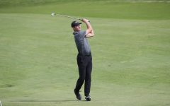 (FILE) Ryan Smith, Cal U men's golf team, at the NCAA Atlantic/East Region Championships at Totteridge Golf Club, Greensburg, Pa. on May 9, 2019.
