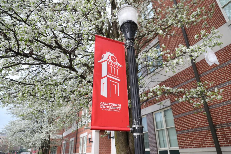 Eberly Hall, California University of Pennsylvania campus, April 5, 2020