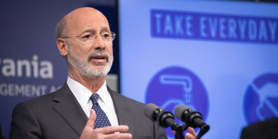 Pennsylvania Governor Tom Wolf, May 2020