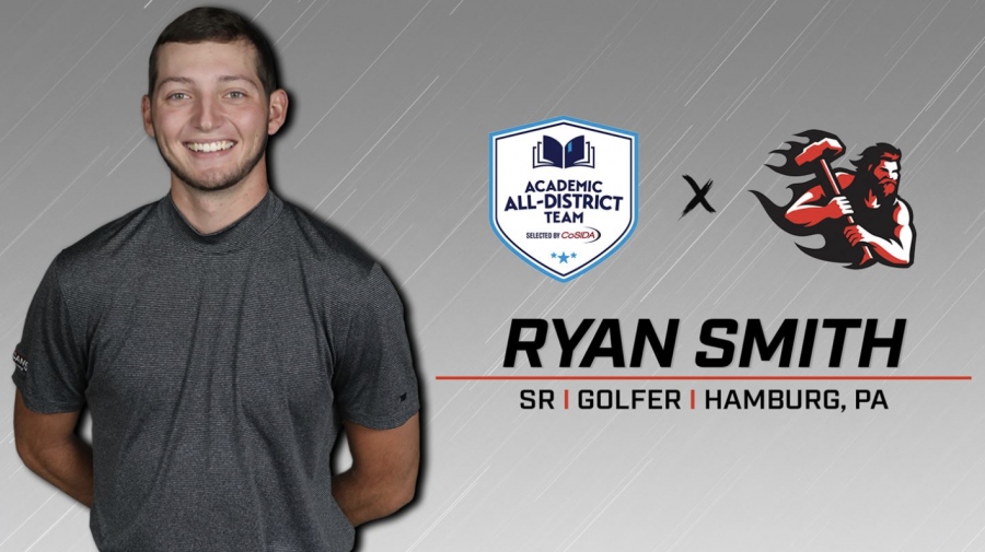 Golf: Smith receives academic all-district honors